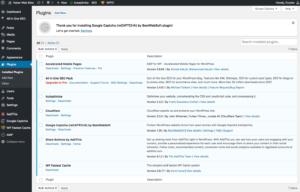 Plugins for WordPress optimization